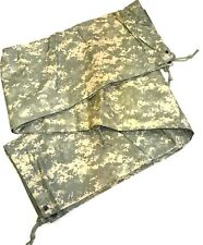 "USGI US Army  Field Tarpaulin ACU / Foliage Reversible 92"" x 82"" Tarp (poncho)"