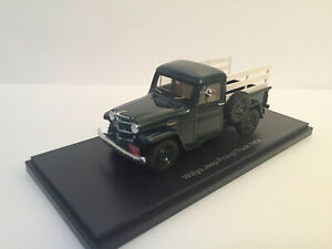 1/43  NEO 45804 1954 Willys Jeep Pick up truck with wooden frame