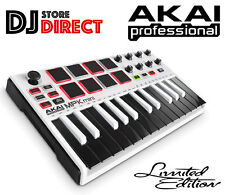 Akai MPK Mini Mk2 - MIDI USB Compact Controller Keyboard Limited Edition White