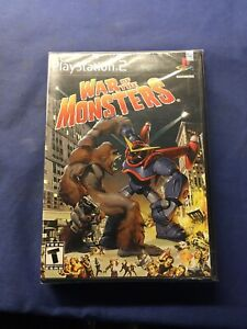 War of the Monsters (PlayStation 2, PS2 2003) FACTORY SEALED!