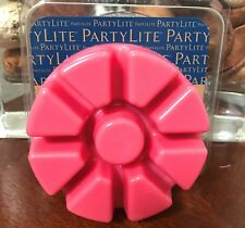 Partylite Raspberry Rhubarb wax scented melt tray Scents Plus 40% Off New 2019