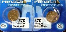 370 renata sr920w (2 stück) d370 uhrbatterie versandkostenfrei authorized seller