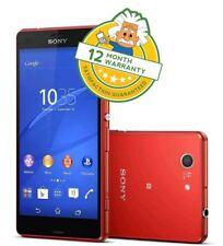 Sony Xperia Z3 Compact Orange D5803 Android Smartphone liberado 16GB 4G Grado B