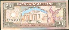 TWN - SOMALILAND 3a - 20 Somaliland Shillings 1994 UNC Pr. AH