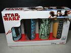 Star Wars 2 Oz Shot Glasses Han Solo and Greedo Zak brand Set of 4 Boxed