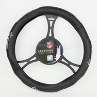 NFL Dallas Cowboys Synthetic Leather Car Truck Steering Wheel Cover Team Cover