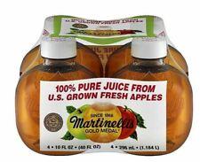1 MARTINELLI'S GOLD MEDAL APPLE JUICE 10 Oz TIKTOK APPLE JUICE PLASTIC TIK TOK