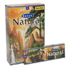 SATYA NATURAL Agarbatti Incense Sticks12 x 45g Boxes Free Shipping