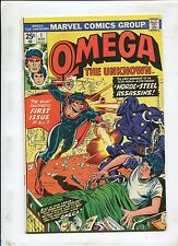 Omega The Unknown #1 ~ A Horde Of Steel Assassins! ~(Grade 6.5)WH