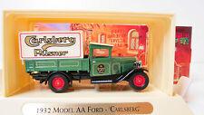 1932 Model AA ford Carlsberg Great beers Matchbox ygb05 sin usar en su embalaje original (FH)