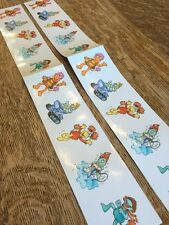 Vintage Fraggle Rock Muppets Stickers 1984 Doozers Gobo Red Fraggle Boober