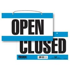 Headline Sign 9384 Double-Sided Open/Closed Sign, 6 Inches by 11 Inches, New, Fr