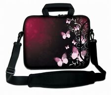 "LUXBURG 17"" Inches Design Laptop Sleeve With Shoulder Strap & handle #DQ"