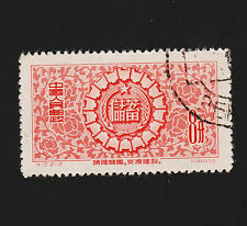 OPC 1956 China PRC 8f Promotion of Saving Sc#300 CTO No Gum