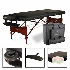 Master Massage Newport 30 inch Professional Portable Table Package Black
