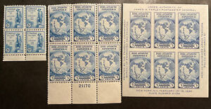 TDStamps: US Stamps Scott#733 734 Mint H OG #735 Unused NH NGAI
