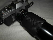 CANNON TLb Camera Body Vintage With CANNON 70 - 210 mm MACRO Zoom LENS