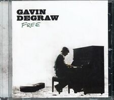 Gavin DeGraw FREE 2009 CD Camus Celli 3rd/Last For J Records/One Tree Hill MINT!