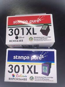 Cartuccia per HP 301XL NERO + COLORE DESKJET 1000 1050 3000 CH561E CH562E CH563E