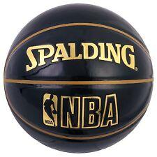 Spalding Japan Basketball Nba Underglass Size:7 Black 74-486Z New Japan
