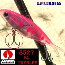 Soft Plastic Vibe Fishing Lures Tackle 115mm TPR Barra Snapper Fishing Lure
