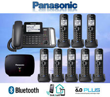 PANASONIC KX-TG9582B 2-LINE LINK2CELL 1 CORDED PHONE 8 CORDLESS 1 REPEATER