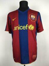 BARCELONA 2007/2008 HOME FOOTBALL SHIRT CAMISETA FUTBOL SOCCER JERSEY NIKE