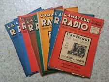 Magasine L'amateur radio N°1 / 2 / 3 / 4 / 5 / 14 / 15 / 22 / 32