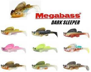"Megabass 3.8"" Dark Sleeper 3/4 oz. Swimbait (Select Color)"