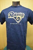 Majestic NFL Mens St. Louis Rams Football Shirt New S, M, L, XL
