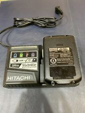 Hitschi Uc18Ysl3 Battery Charger And Bsl1830C 18V Lithium Battery Combo