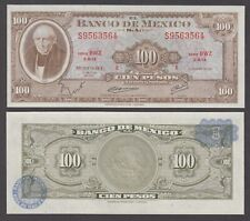 MEXICO  P.61i  100 PESOS 18.7.1973 SERIES BW2  UNCIRCULATED  LOW SHIPPING