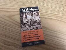 1967 Schwinn Racer Breeze Speedster 3 Speed Bike Manual