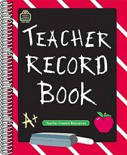 Teacher Created Resources Chalkbrd Teacher Record Book - 32 Sheet[s] - Spiral