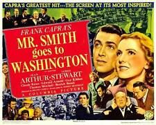 FRANK CAPRA'S MR. SMITH GOES TO WASHINGTON Movie POSTER 30x40 Jean Arthur James