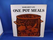ONE POT MEALS RECIPE COOK BOOK MARGARET GIN SLOW COOKER PRESSURE COOKER 1977