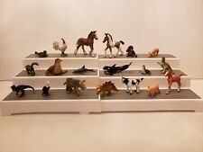 Vintage Safari & Schleich Toy Animal Figures~Mixed Lot of 19 (Plastic/Rubber)