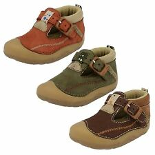 Boys First Buckle Baby Shoes