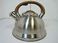Balduzri Whistling Induction Tea Kettle Teapot Stainless Steel Italian Style Pot