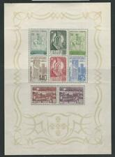 Portugal, Postage Stamp, #594a Mint NH Sheet, 1940, JFZ