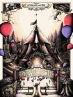 Stephen King It Pennywise Derry Circus Movie Print Poster Mondo Shane Lewis
