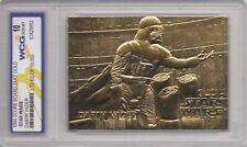 Darth Vader, Graded Gem Mint 1996 Score 23KT Gold Card