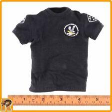 SWAT Takeshi Yamada - Black T Shirt - 1/6 Scale - DID Action Figures