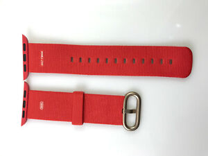 Apple Watch Woven NYLON Band Gold buckle 38MM 40MM 2017 Chinese New Year Edition