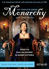 Monarchy Complete Collection DVD SET History Shakespeare Documentary English Box