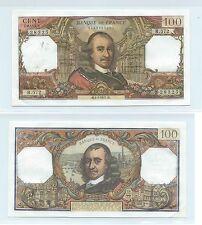 Gertbrolen 100 FRANCS CORNEILLE du 1-7-1971 R.572 Billet N° 1429128325