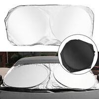 Foldable Jumbo Extra Large Sun Shade Truck Van Car Windshield Visor Block Cover