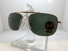 AUTHENTIC RAY BAN SUNGLASSES RB 3560 001 GOLD/GREEN LENS