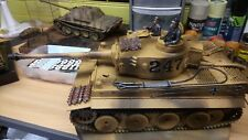 1/16 R. C. TIGER 1 Tank Afrika Korp version 247 (voir photos)