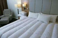 Dyne Super King 95% Siberian Duck Down Channel Quilt  -6 Blanket - Made in Aust.